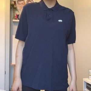 Roots Navy Blue Polo T-Shirt